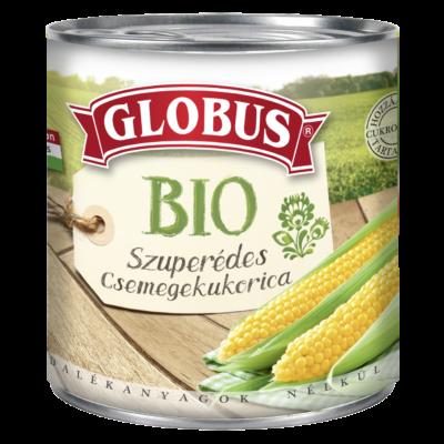 GLOBUS BIO Szuperédes Csemegekukorica
