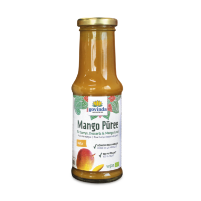 mangó püré, mengópüré, bio mangópüré, hozzáadott cukormentes, vegán mangó püré, bio mangó püré, mangó lassi recept, indiai joghurtos mangó ital